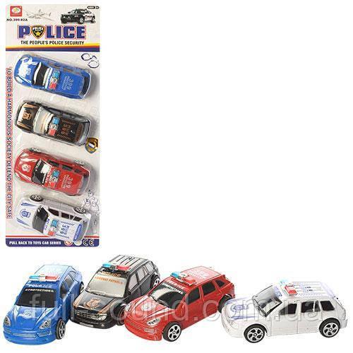 Набор машинок полиция