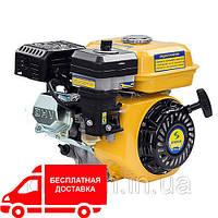 Двигатель бензиновый Садко GE-210  (7,0 л.с., шпонка Ø19мм, L=58мм, фильтр в масл. ванне) + доставка