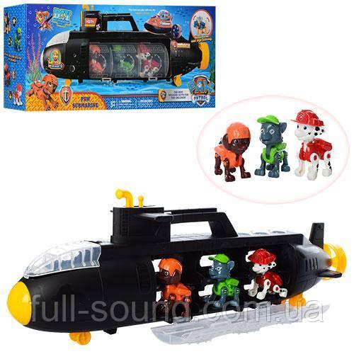 Подводная лодка щенячий патруль