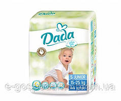Подгузники детские DADA Extra Soft (5) junior 15-25 кг 44 шт