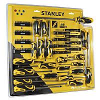 Набор отверток / Отвертка с комплектом бит Stanley STHT0-62139