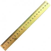 Линейка Мицар 20 см деревянная (1.56)