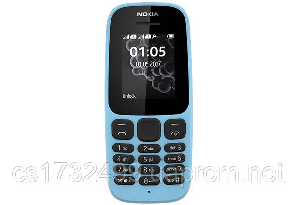 Мобильный телефон Nokia 105 New blue