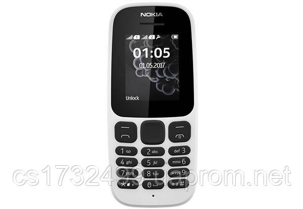 Мобильный телефон Nokia 105 New white