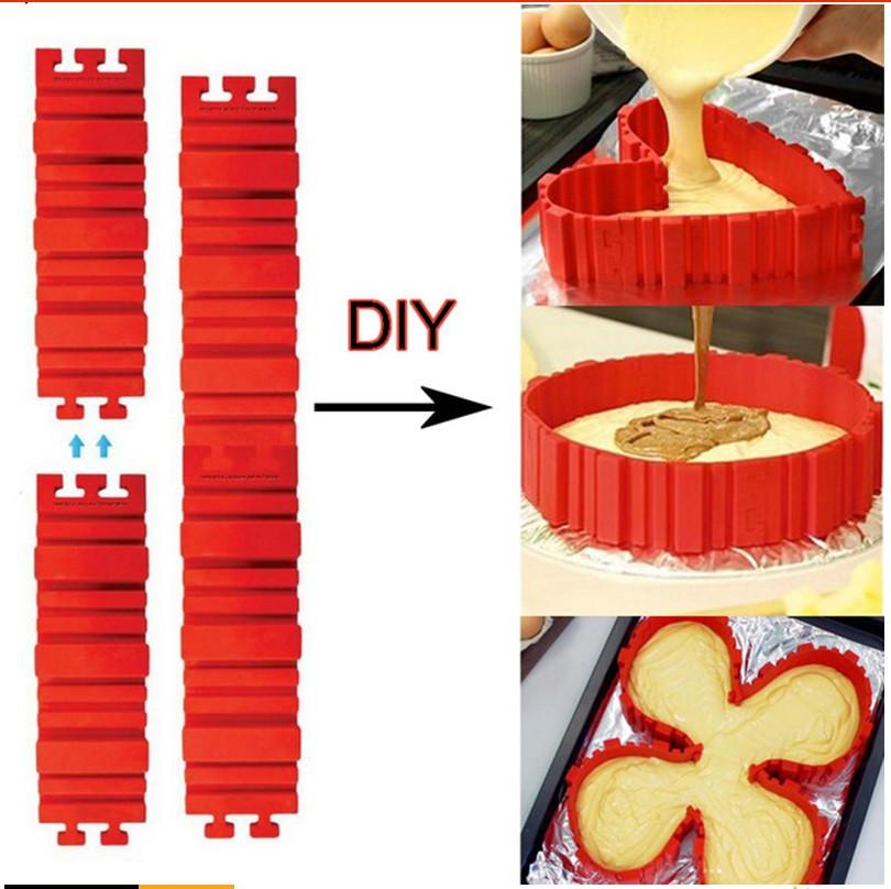 Разъёмная силиконовая форма трансформер
