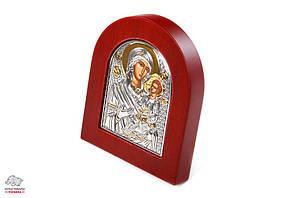Икона Иверской Божией Матери Silver Axion 10х8 см Арт. 813-1020