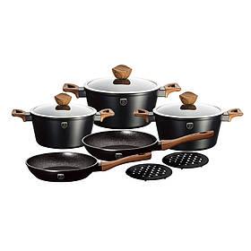 Набор посуды Berlinger Haus Ebony Maple Line BH-1534 (10 пр)