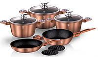 Набор посуды Berlinger Haus Copper Metallic Line BH-1220 (10 пр.)