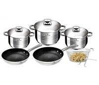 Набор посуды Blaumann Gourmet Line 10 предметов BL-3243