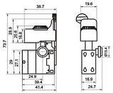 Кнопка дрилі Интерскол, фото 2