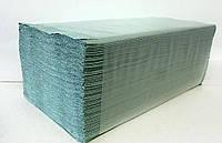 Полотенца бумажные Альбатрос V-сложения  зеленые /упак. 200 шт/ Арт. 402