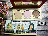 Палетка хайлайтеров The Balm The Manizer Sisters