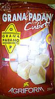Сыр Grano Padano cubetti (кубиками), 200 г, Италия, фото 1