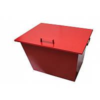 Пожарный ящик для песка стационарный