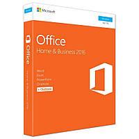 Офисный пакет Microsoft Office 2016 для дома и бизнеса 32/64 English для 1 ПК Коробочная версия (T5D-02710)