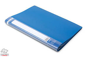 Дисплей-книга 20 файлов BuroMax Jobmax А4 пластиковая цвет ассорти Арт. BM.3605