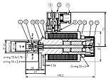 2х-позиционный искробезопасный гидрораспределитель PONAR типа 2IRED 6, фото 2