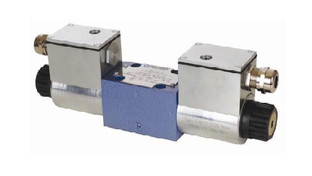 Искробезопасный гидрораспределитель PONAR типа IWE6