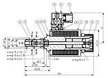 2х-позиційний іскробезпечний гідророзподільник PONAR типу 3IREH 6, фото 2