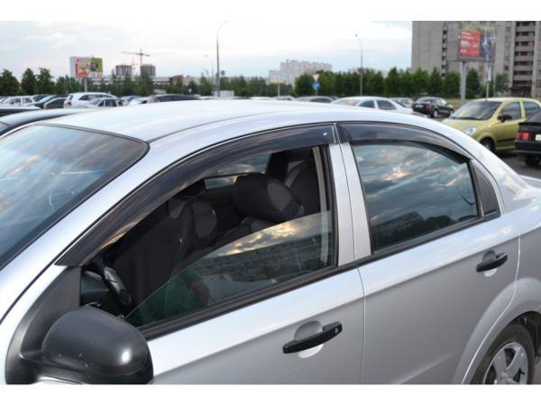 "Ветровики, дефлекторы окон Авео 3 Седан, Aveo 3 Sedan ""ANV"""