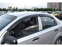 """Ветровики, дефлекторы окон Авео 3 Седан, Aveo 3 Sedan """"ANV"""", фото 1"""