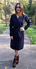 Женское пальто кашемировое без подкладки, фото 3