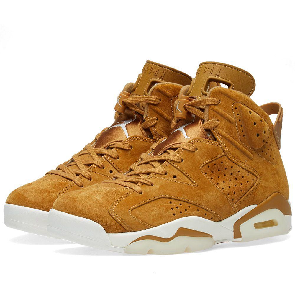 07f4de36ff78 Оригинальные Кроссовки Nike Air Jordan 6 Retro Golden Harvest — в ...