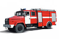 Аренда пожарной автоцистерны КрАЗ 5233