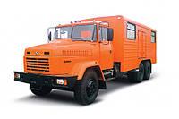 Аренда автомобиля-мастерской КрАЗ 65053