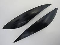"""Накладка фар, тюнинговые накладки на фары  Ланос, Daewoo Lanos """"ANV"""" (№5)"""