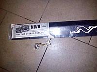 Дефлектор заднего стекла, спойлер заднего стекла, козырек ВАЗ 2121 Нива, металлический, фото 1