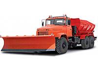 Аренда комбинированной дорожной машины КрАЗ МДКЗ-30
