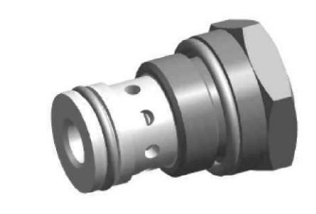 Дросель із зворотним клапаном UDSD6X Ponar