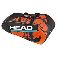 Сумка, рюкзак, чехол HEAD Чехол для теннисных ракеток Radical 9R Supercombi (283177 BKOR)