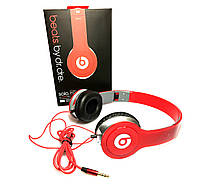 Наушники Monster Beats by Dr.Dre Solo HD Красные