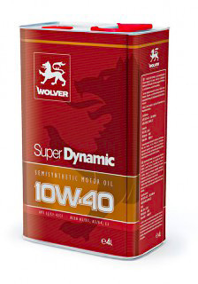 Масло Wolver Super Dynamic 10W-40