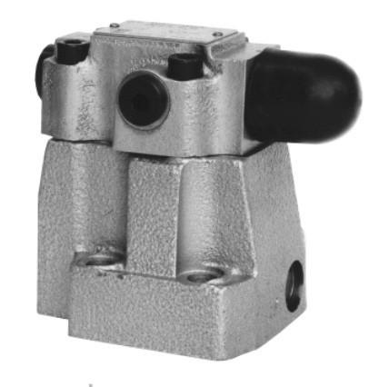 Пілотований редукційний клапан DR30 Ponar