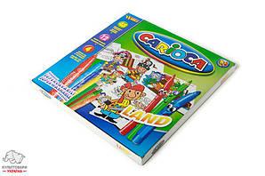 Набор для рисования Carioca Land Universal 60 предметов в картонном чемоданчике