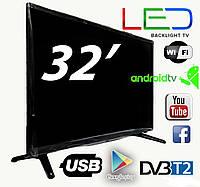 "Новый SMART TV Led телевизор Backlight TV L32"" ANDROID,HD Ready"