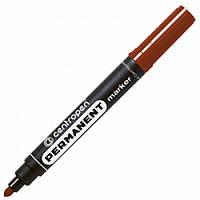 Маркер перманентный Centropen 8566 2,5 мм коричневый Арт. 35439