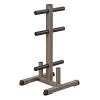 Стойка для дисков Body-Solid Olympic Plate Tree & Bar Holder GOWT