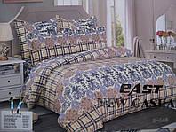 Евро комплект постельного белья 4 наволочки