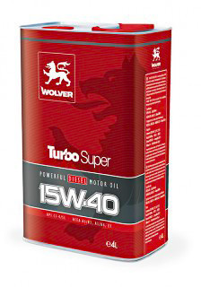 Масло Wolver Turbo Super 15W-40
