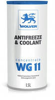 Охлаждающая жидкость Wolver Antifreeze & Coolant WG11 Konzentrat