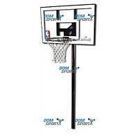 Стойка баскетбольная Spalding Silver In-Ground (88596CN)