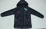 Теплая  демисезонная куртка  на мальчика  рост 140 см, фото 1