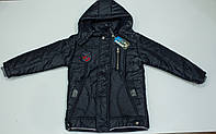 Теплая  демисезонная куртка  на мальчика  рост 128-152 см