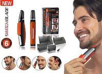 Триммер Micro Touch Switchblade бритва машинка для стрижки бороды усов