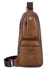 Рюкзак міський чоловічий Jeep1941 світло-коричневий