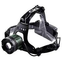 Налобный фонарь POLICE Bailong BL-2188B T6 Линза для охоты и рыбалки
